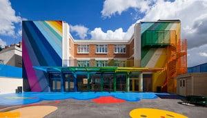 Parisian School Yard