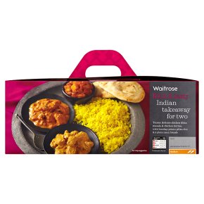 Waitrose Indian takeaway for two