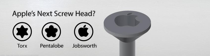 Pentalobe, Apple Logo and Screwing You Out of Self-Repair