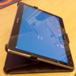 Samsung Galaxy Tab Pro on Stand