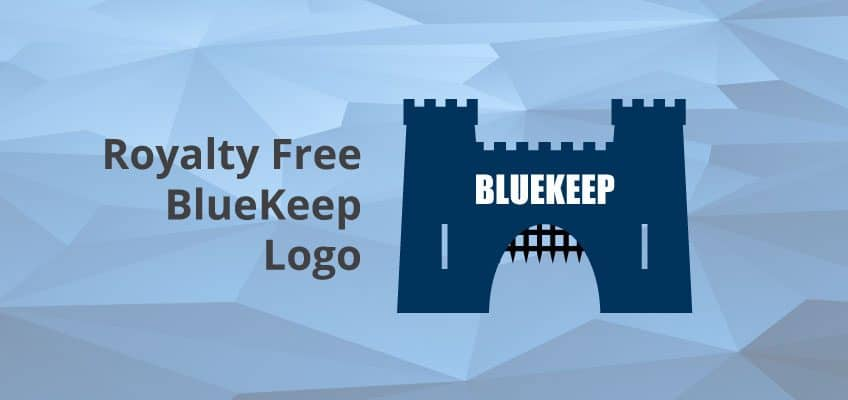Royalty Free BlueKeep Vectored & Bitmap Logo